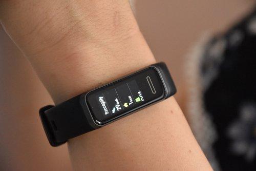 Huawei Band 4: przykładowe pomiary / fot. techManiaK