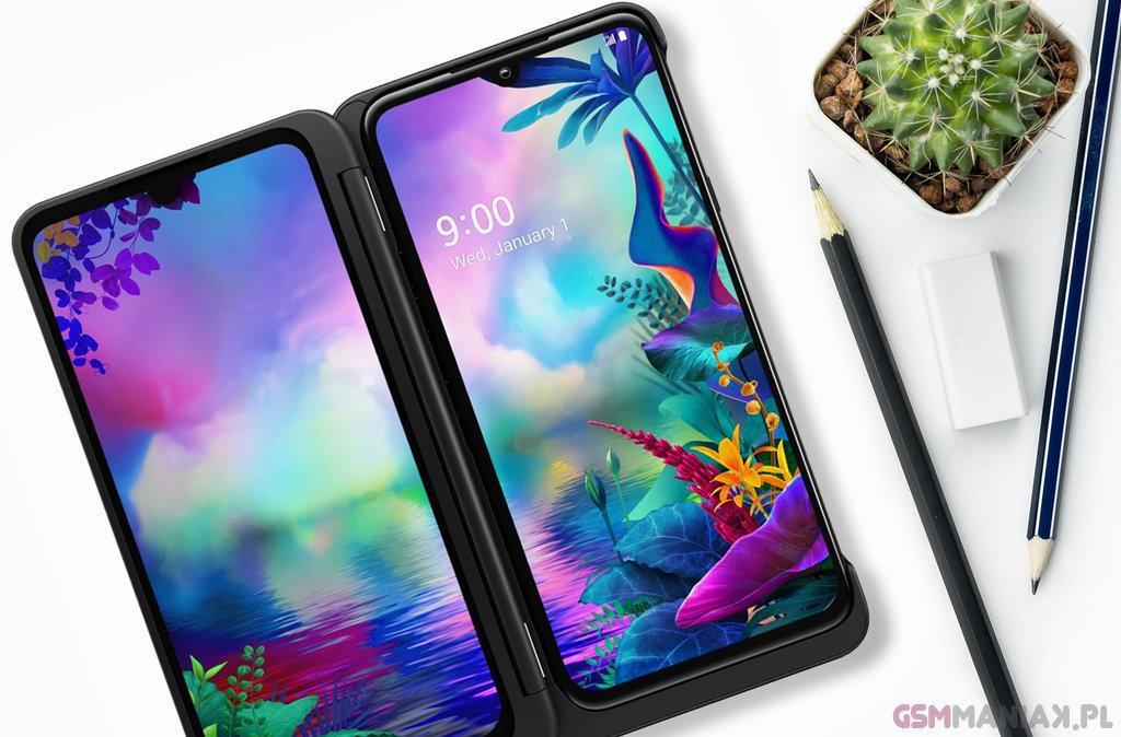 TOP telefony 2020 LG G8x ThinQ