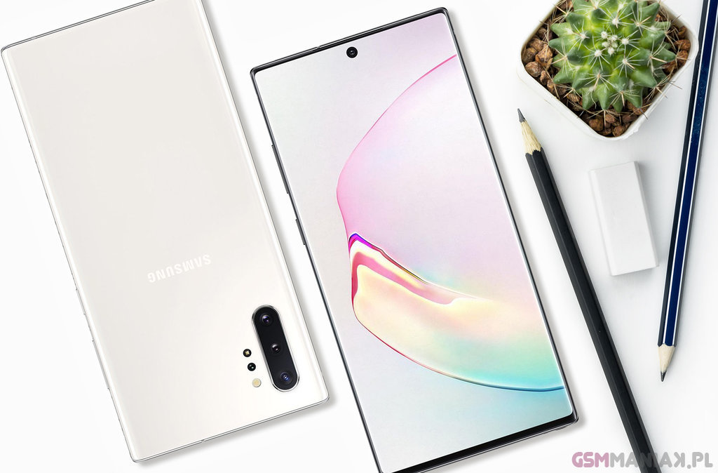 TOP telefony 2020 Samsung Galaxy Note 10 Plus