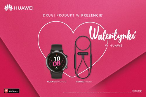Promocja Watch GT 2 / fot.Huawei