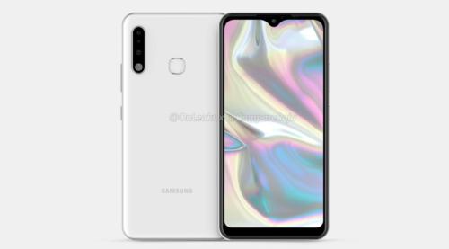 Samsung Galaxy A70e/fot. OnLeaks&CompareRaja