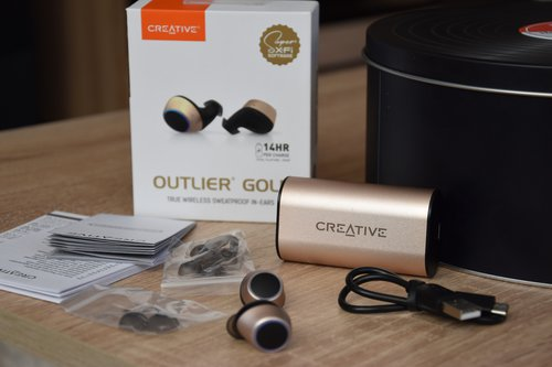 Creative Outlier Gold / fot. techManiaK