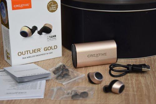 Creative Outlier Gold: całość zestawu / fot. techManiaK
