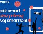 Samsung zdezynfekuje Twój smartfon za pomocą promieni UV-C. Za darmo!