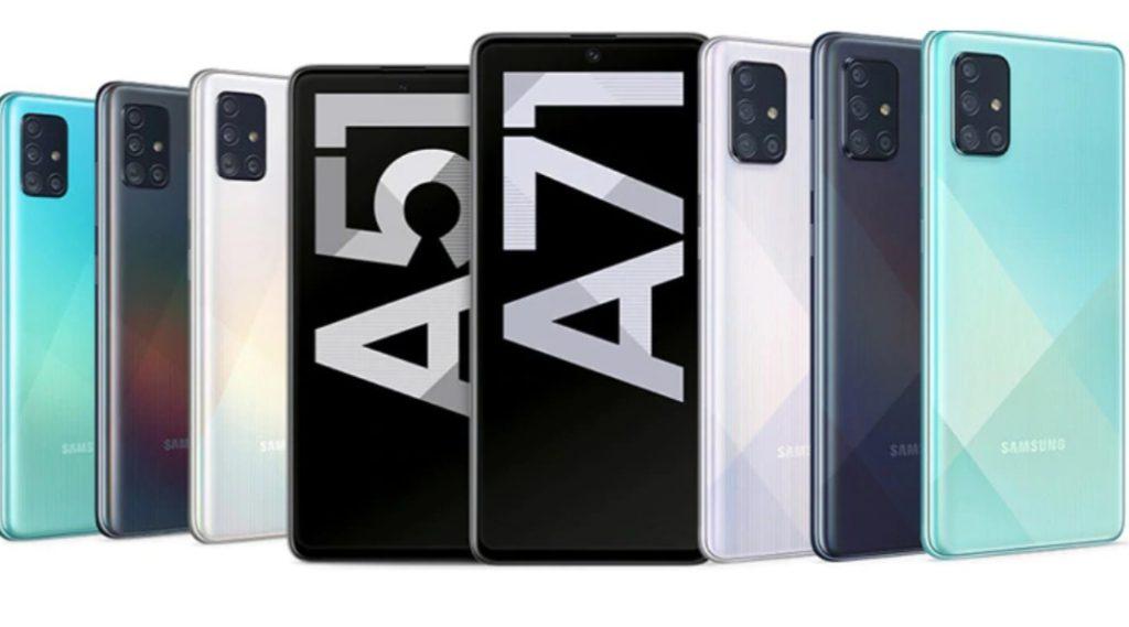 Galaxy A51 i A71 / fot. Samsung
