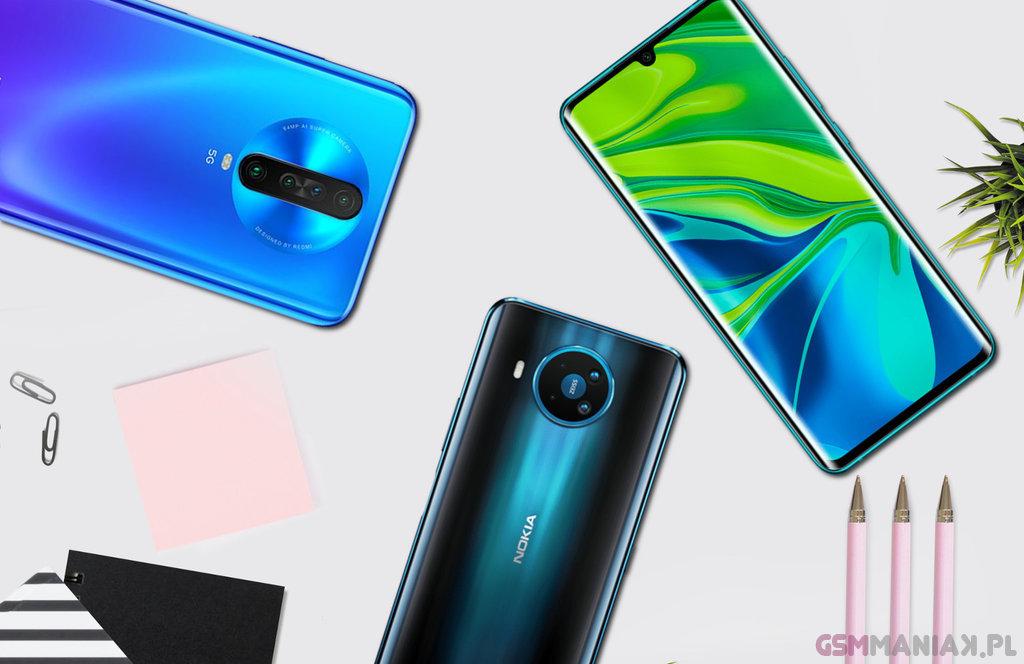 Smartfony Nokia Xiaomi