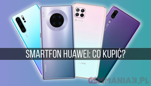smartfon huawei 2020