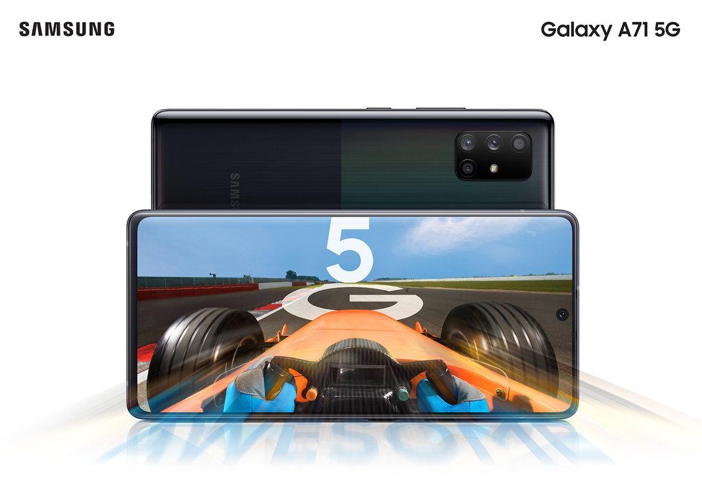 Samsung Galaxy A71 5G/fot. Samsung