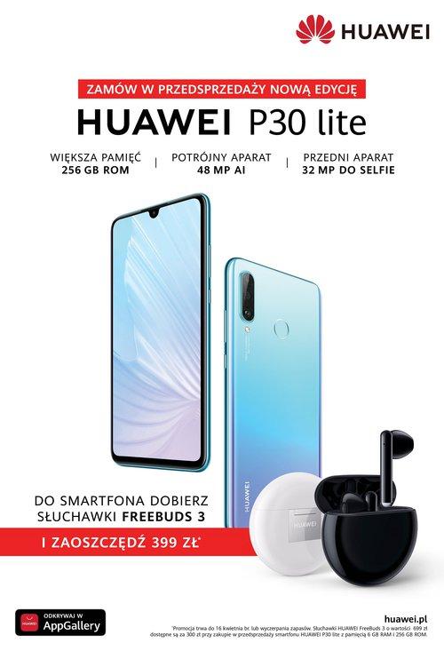 Nowa edycja Huawei P30 Lite w Polsce / fot. Huawei