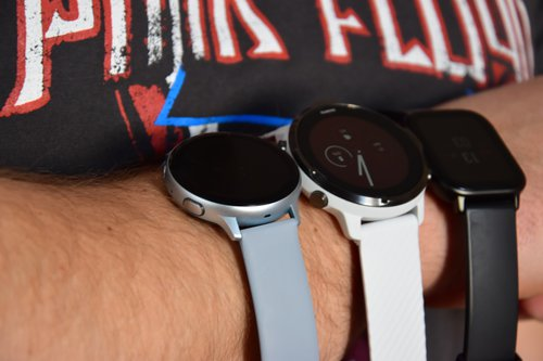 Samsung Galaxy Watch Active 2 vs. Amazfit GTS vs. Suunto 7 / fot. techManiaK