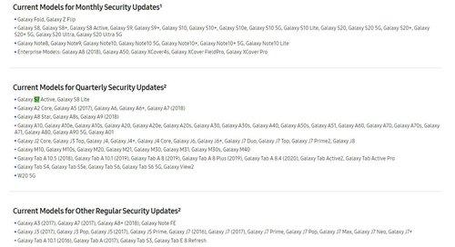 Jedyny Galaxy S7 na liście wsparcia to wersja Active / fot. Samsung