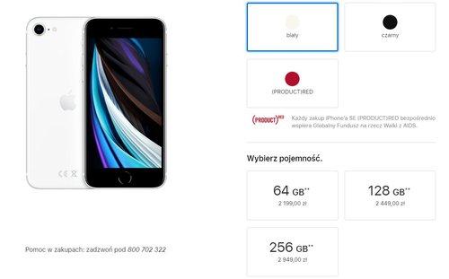 Polska cena iPhone SE 2020