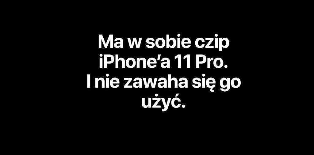 iPhone SE ma ten sam SoC, co iPhone'y 11 Pro