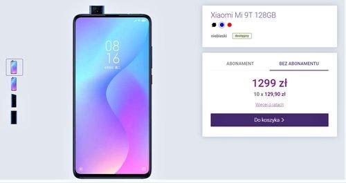 Promocyjna cena Xiaomi Mi 9T w Play