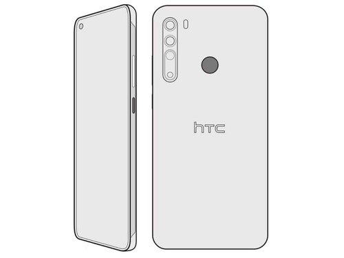 HTC Desire 20 Pro/fot. Evan Blass
