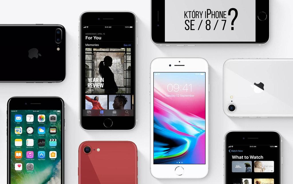 iphone se vs 7 vs 8