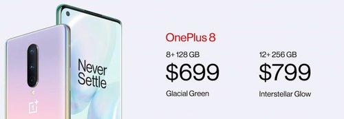 Ceny OnePlus 8/fot. OnePlus