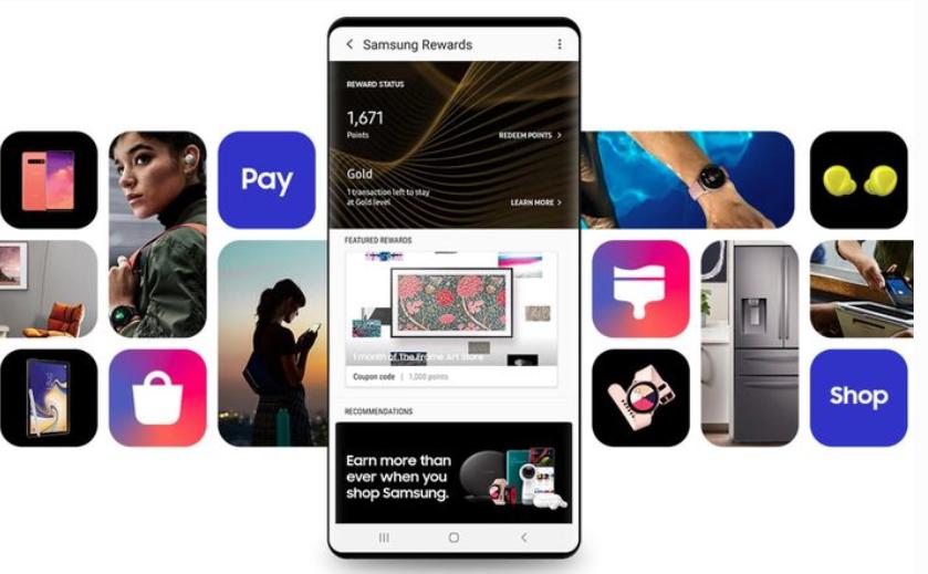 Nowy design smartfonów Samsung/fort Samsung