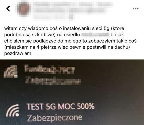 Obawa przed 5G jest silna / fot. Kraków w pigułce