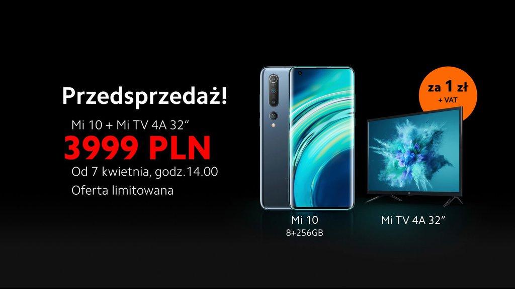 Xiaomi Mi 10 w polskiej przedsprzedaży - cena i gratis / fot. Xiaomi Polska