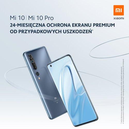 Xiaomi Mi 10 z dwuletnim ubezpieczeniem ekranu / fot. Xiaomi Polska