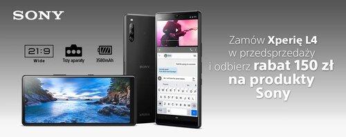 Sony Xperia L4 w polskiej przedsprzedaży / fot. Media Expert