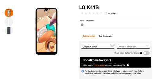 LG K41s