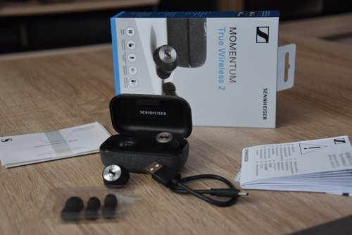 Sennheiser Momentum True Wireless 2 / fot. techManiaK