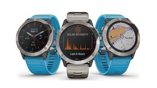 Garmin: zegarki z rodziny Solar / fot. Garmin
