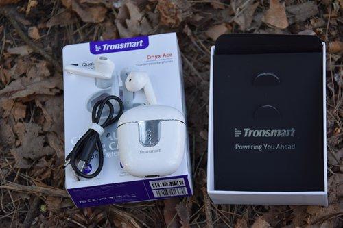 Tronsmart Onyx Ace TWS: zestaw / fot. techManiaK