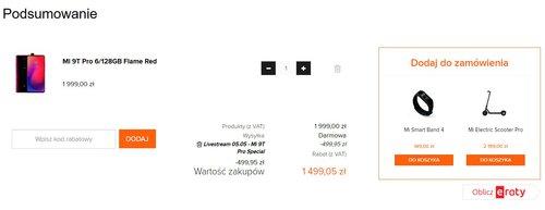 Promocyjna cena Xiaomi Mi 9T Pro w Mi-home.pl