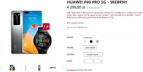 Huawei P40 Pro kupisz teraz z prezentem