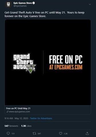 twitter/EpicGamesStore