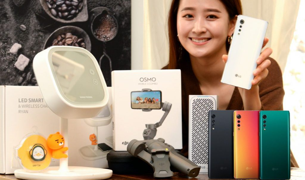 LG Velvet i zestaw przedsprzedażowy / fot. LG