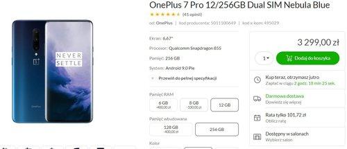 OnePlus 7 Pro w dobrej cenie/fot. x-kom