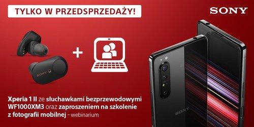Sony Xperia 1 II w polskiej przedsprzedaży