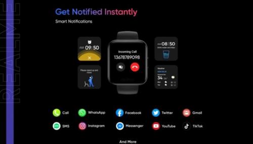 Realme Watch i jego funkcje/fot. Realme