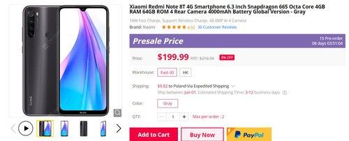 Redmi Note 8T w dobrej promocji