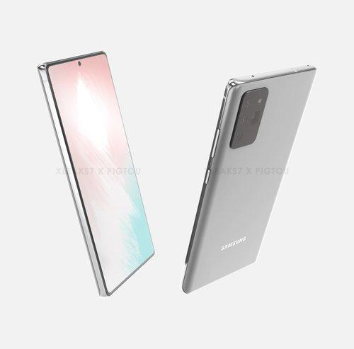 Samsung Galaxy Note 20 / Fot. Pigtou & xleaks7