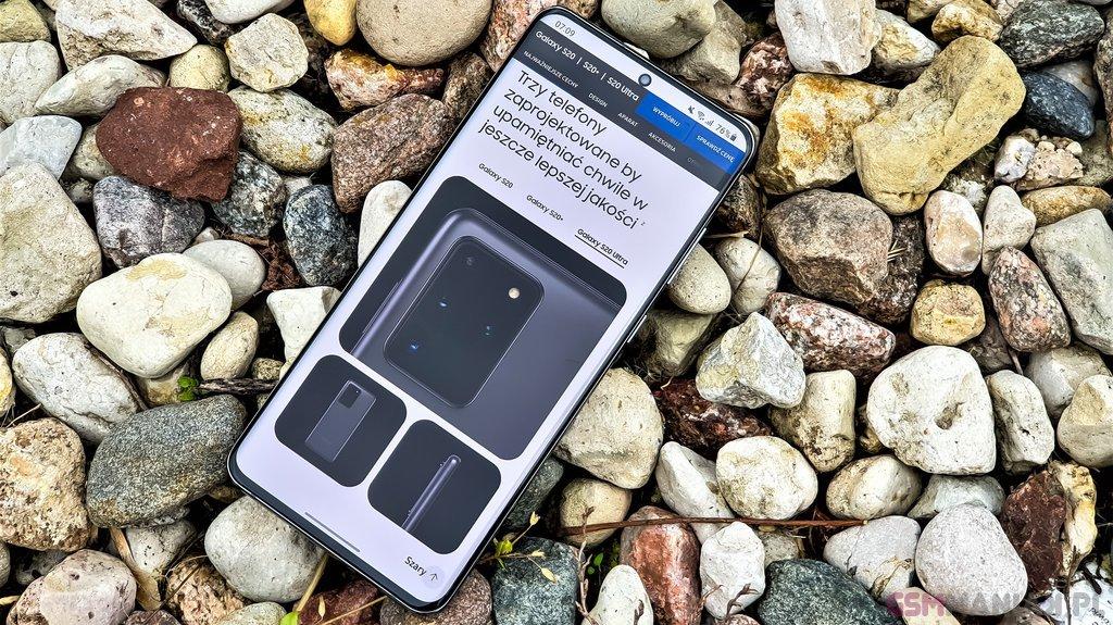 Samsung Galaxy S20 Ultra / fot. gsmManiaK.pl