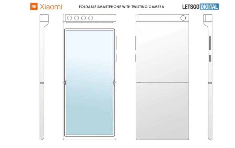 Składany smartfon Xiaomi z obracanym aparatem/fot. LetsGoDigital