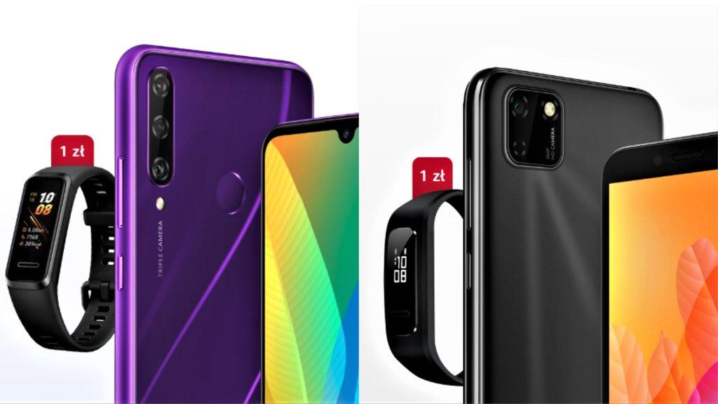 Huawei Y5p i Huawei Y6p / fot. producenta