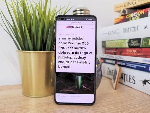 Realme X50 Pro/fot. gsmManiaK.pl