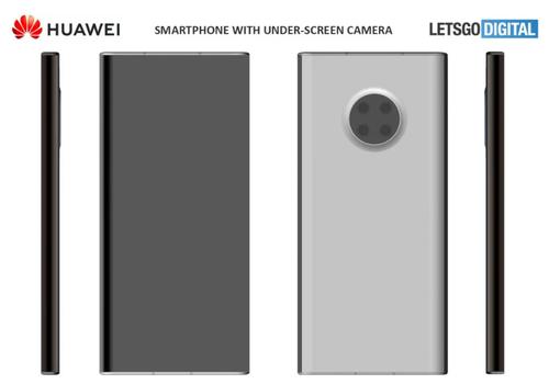 Możliwy design Huawei Mate 40 Pro/fot. LetsGoDigital