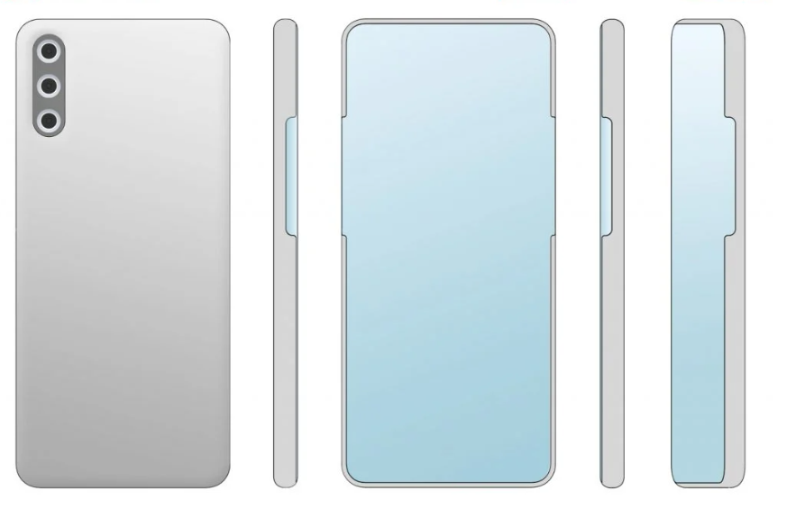 Możliwy wygląd Huawei Mate 40 Pro lub Huawei P50/fot. LetsGoDigital