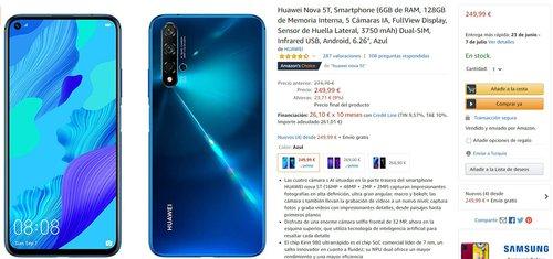 Huawei Nova 5T w świetnej promocji Amazonu