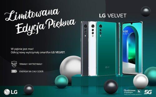 LG Velvet debiutuje w Polsce
