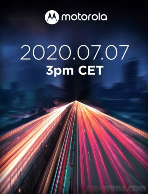 Motorola Edge Lite zadebiutuje już 7 lipca 2020 roku