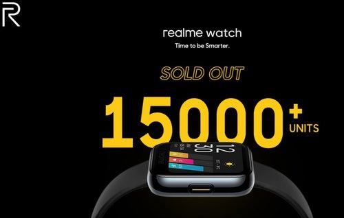Realme Watch sprzedaje się jak świeże bułeczki/fot. Realme