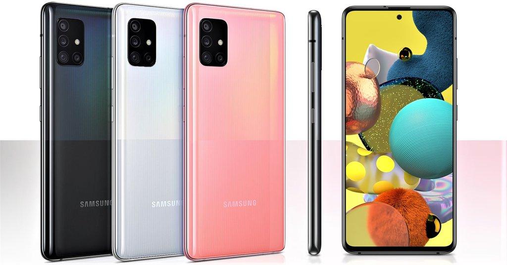 Samsung Galaxy A51 5G / fot. producenta